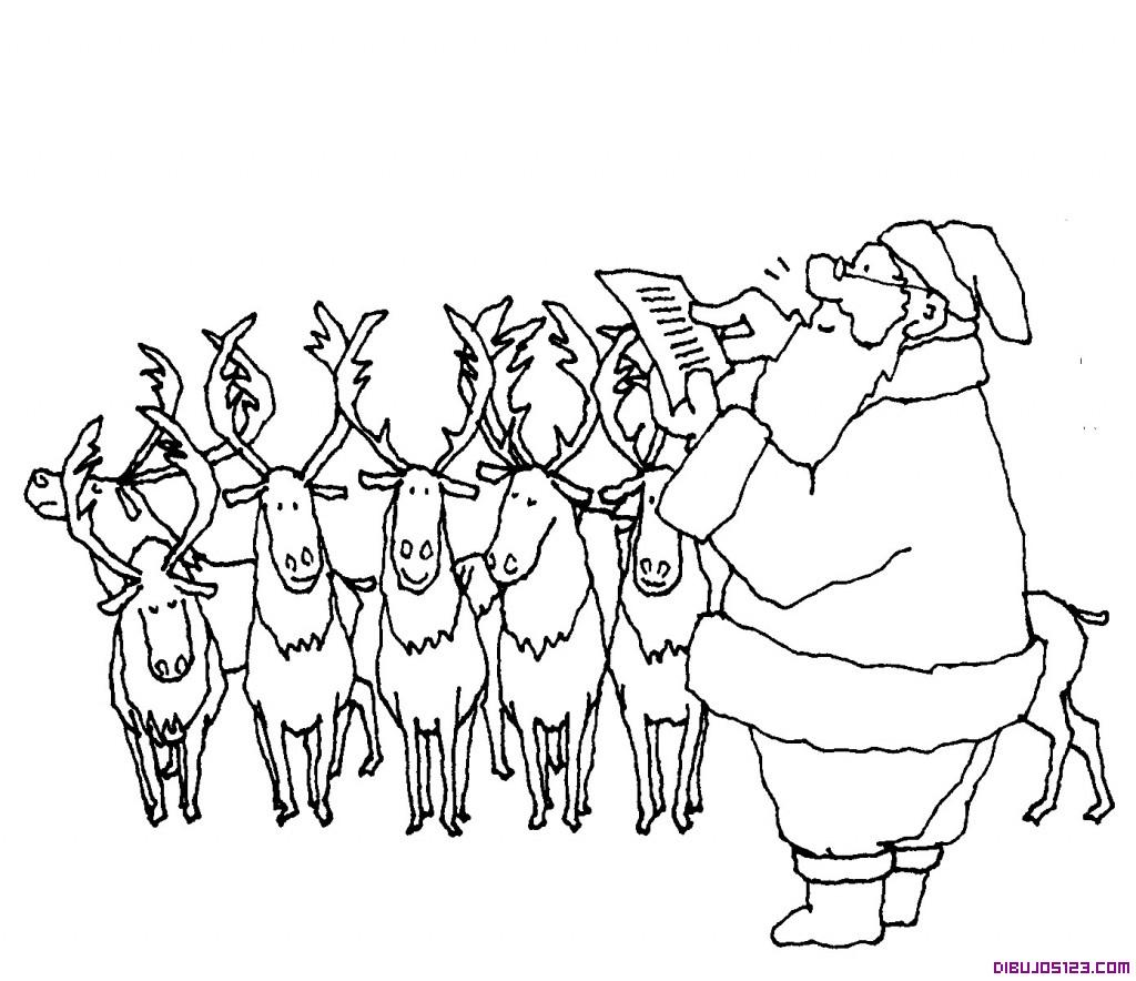 Papa Noel y los Renos