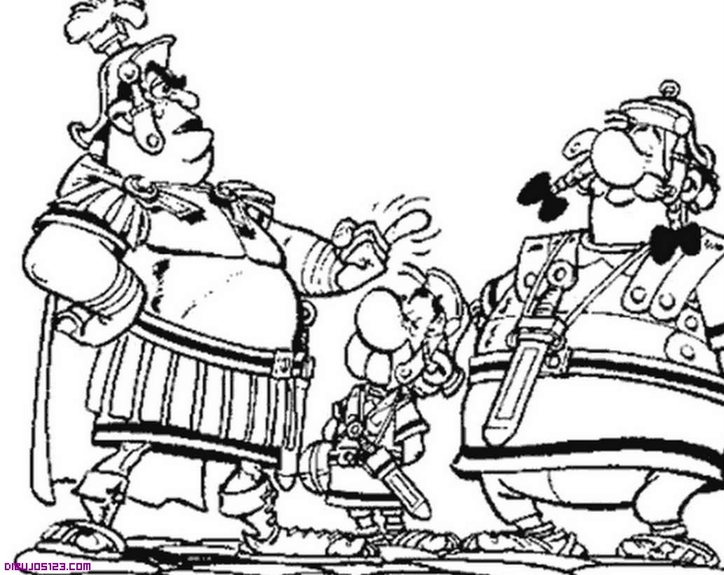 Asterix Obelix y romanos