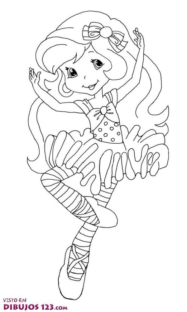 Una simpática bailarina