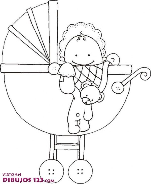Bebé en el carrito