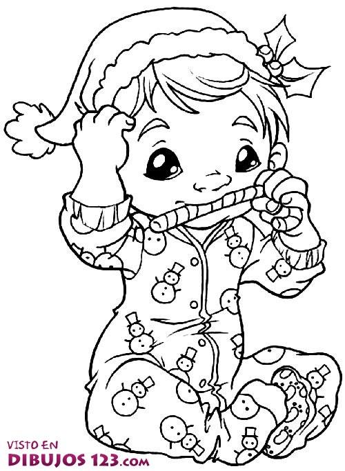 Un bebé muy navideño