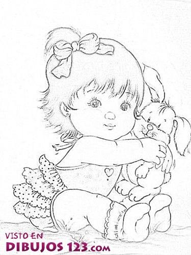 Dibujos Para Colorear Ponis Bebes ~ Ideas Creativas Sobre Colorear