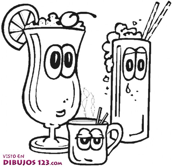 cool cooking coloring pages - photo#16