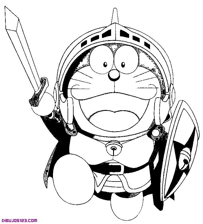 Doraemon de caballero