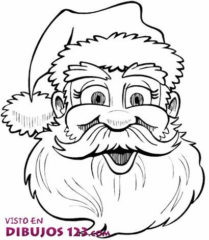 Careta de Papa Noel
