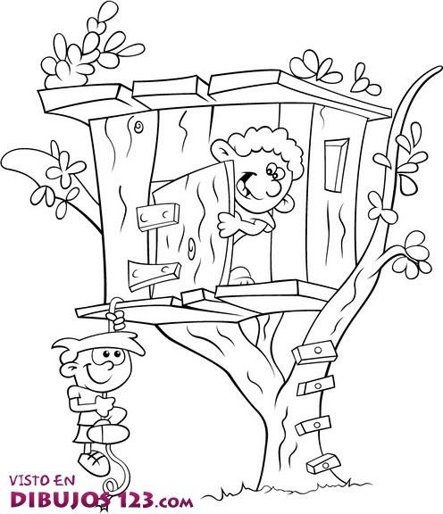 Casita en el árbol