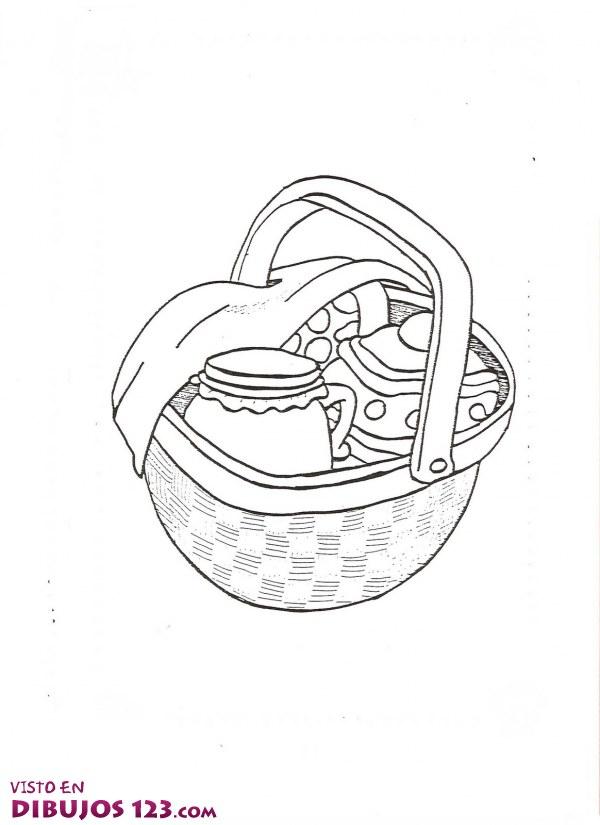 cesta de Caperucita Roja