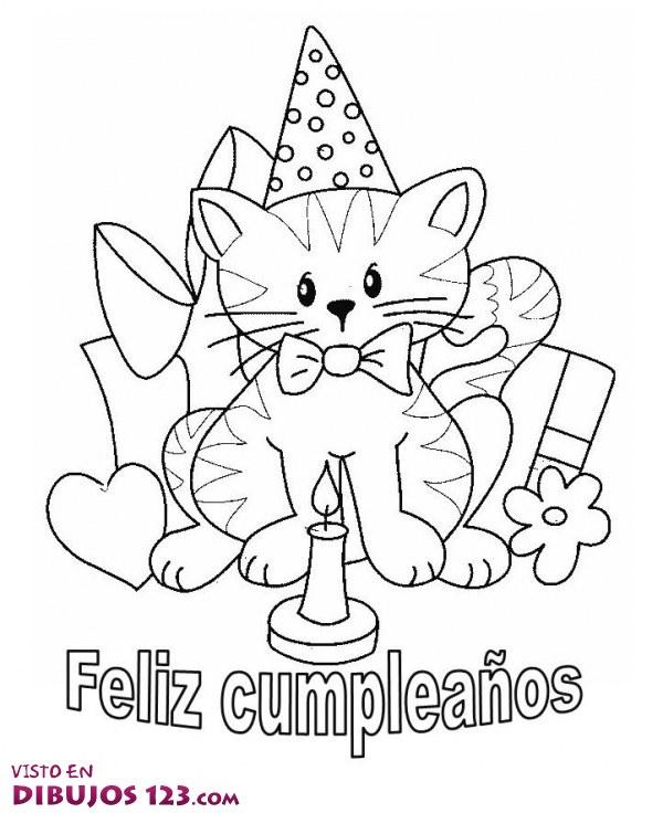 Cumpleaños de gato