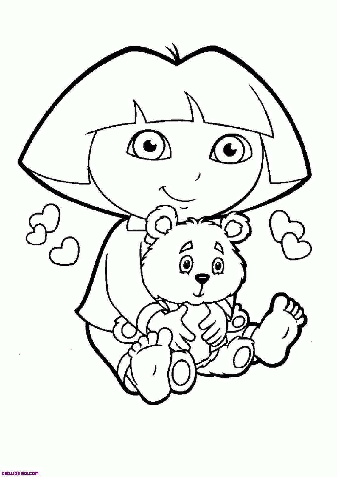 Dora exploradora y su oso