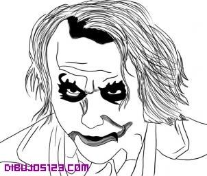 Dibujos Para Colorear De Batman Y Guason Dibujos Para Colorear El
