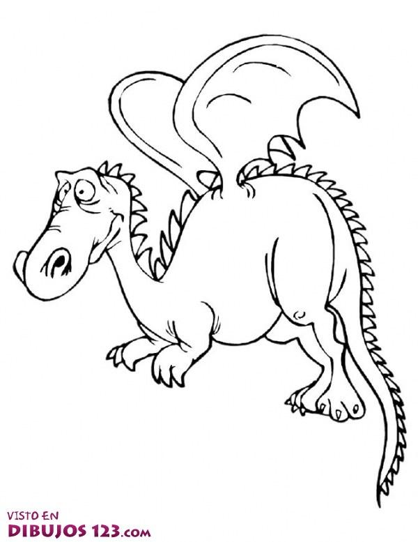 Dragón alado