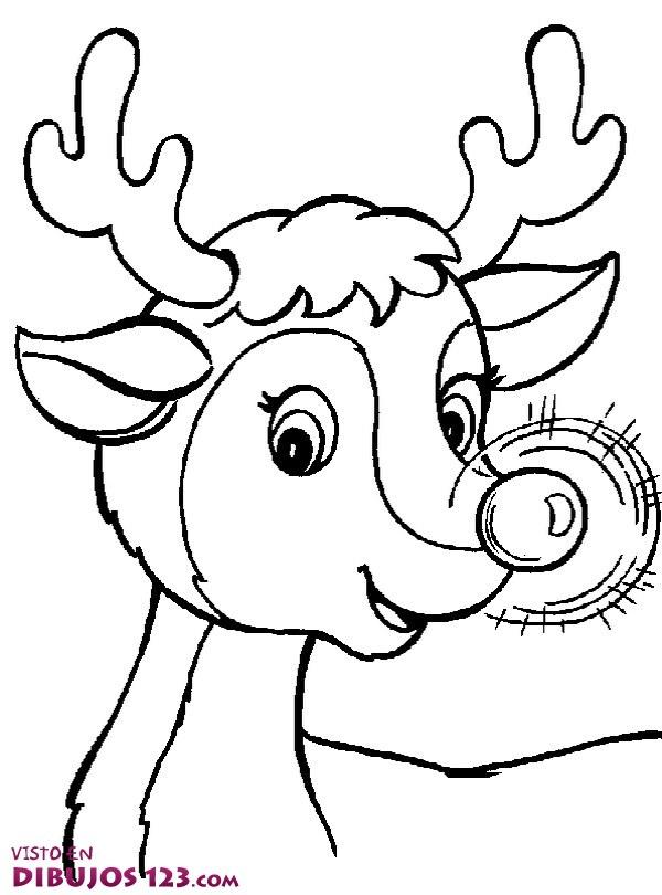 La nariz del reno Rudolph