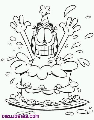 Garfield sale de la tarta