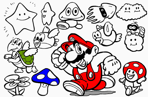 Mario Bross y los champis