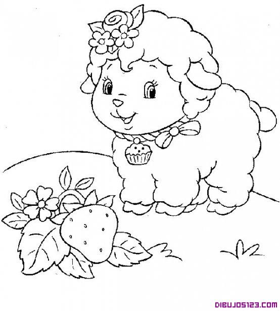 Dibujos para colorear borreguitos - Imagui
