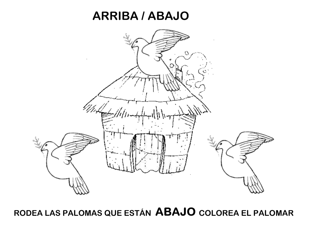 Juego de palomas para niños