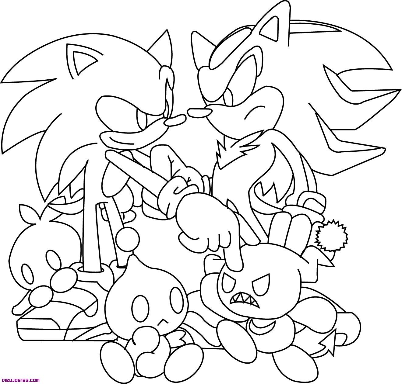 Sonic y personajes