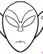 Alien para Recortar