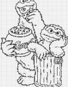 Oscar y Triki, el monstruo de las galletas