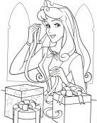 La Bella Durmiente adora la Navidad