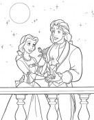 Bella y su hermoso príncipe
