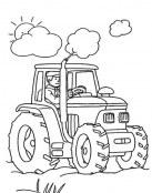 Coloreamos el tractor