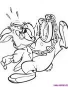 El relojero loco llega tarde