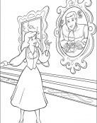 Cenicienta ve un retrato de su Príncipe