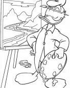 Donald el pintor