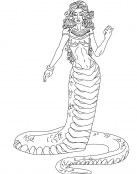 La mujer serpiente