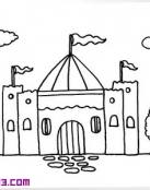 Precioso castillo con dos torres