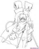 Los personajes de Naruto con sus Katanas
