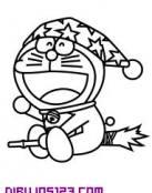 Doraemon y la escoba