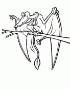 Dragón con bufanda