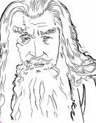 Cara de Gandalf