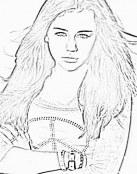 Colorea a Hannah Montana