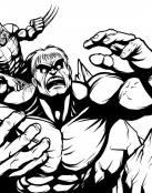 Lobezno y Hulk