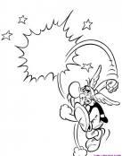 Asterix hace volar a un romano