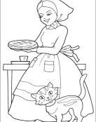 La madre de Caperucita ha hecho un pastel