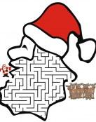 Laberinto de Papa Noel