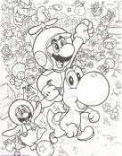 Mario Bross y Yoshi