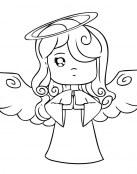 La niña ángel