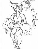 Peter Pan es recibido por Campanilla