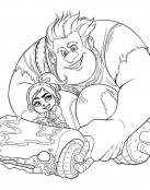 Vanellope y Rompe Ralph