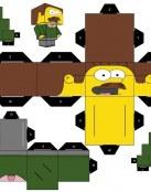 Recortable de Ned Flanders