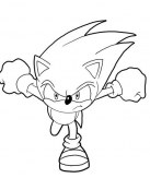 Sonic de frente