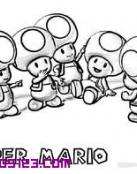 Toads en Super Mario