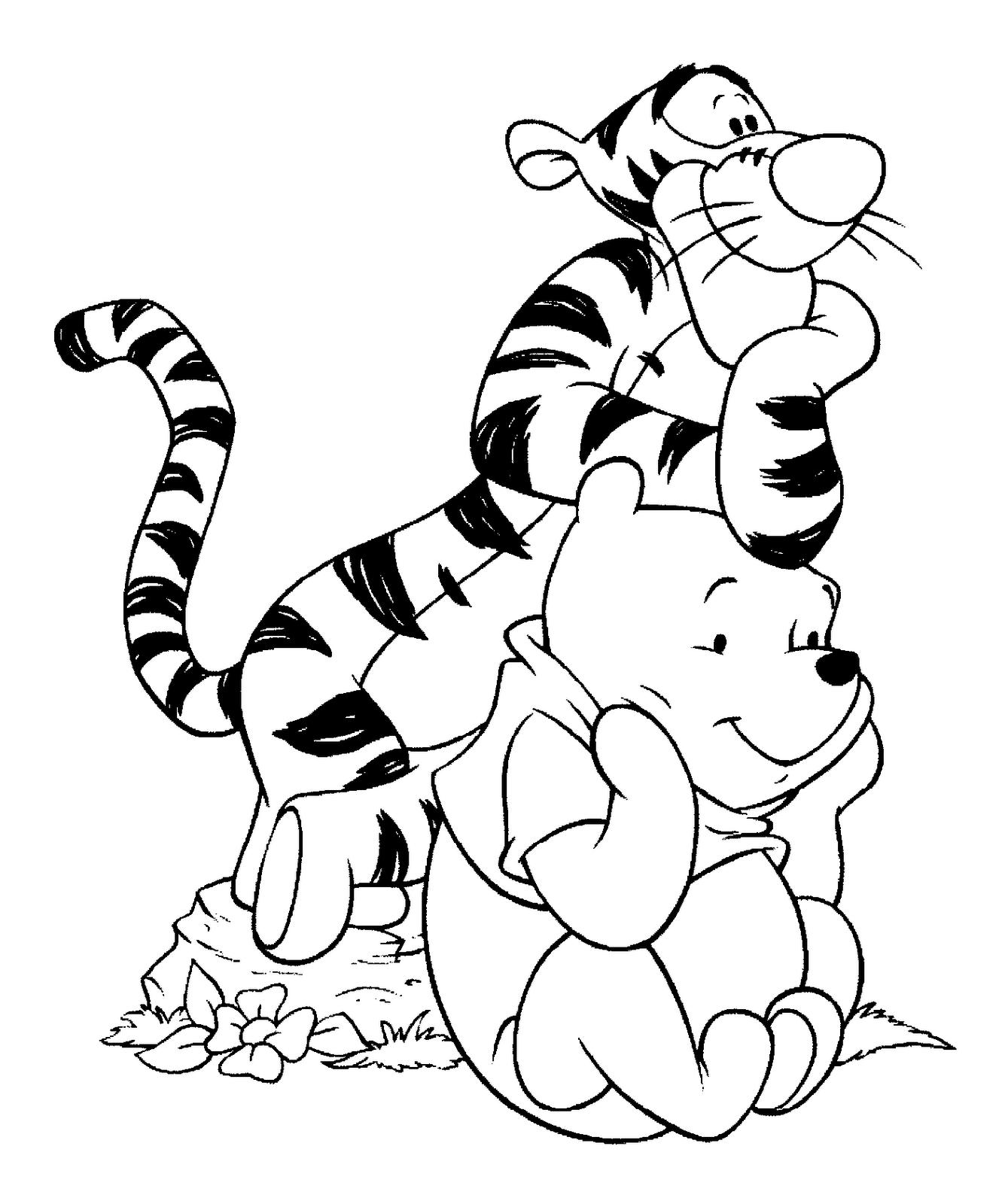 Tiger y Winnie
