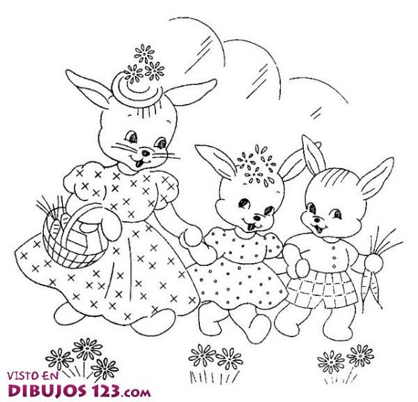 tres conejitos
